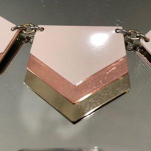 79 off Express Jewelry Express Creamrose goldgold statement